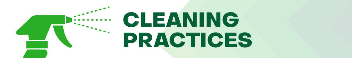 cleaning practices