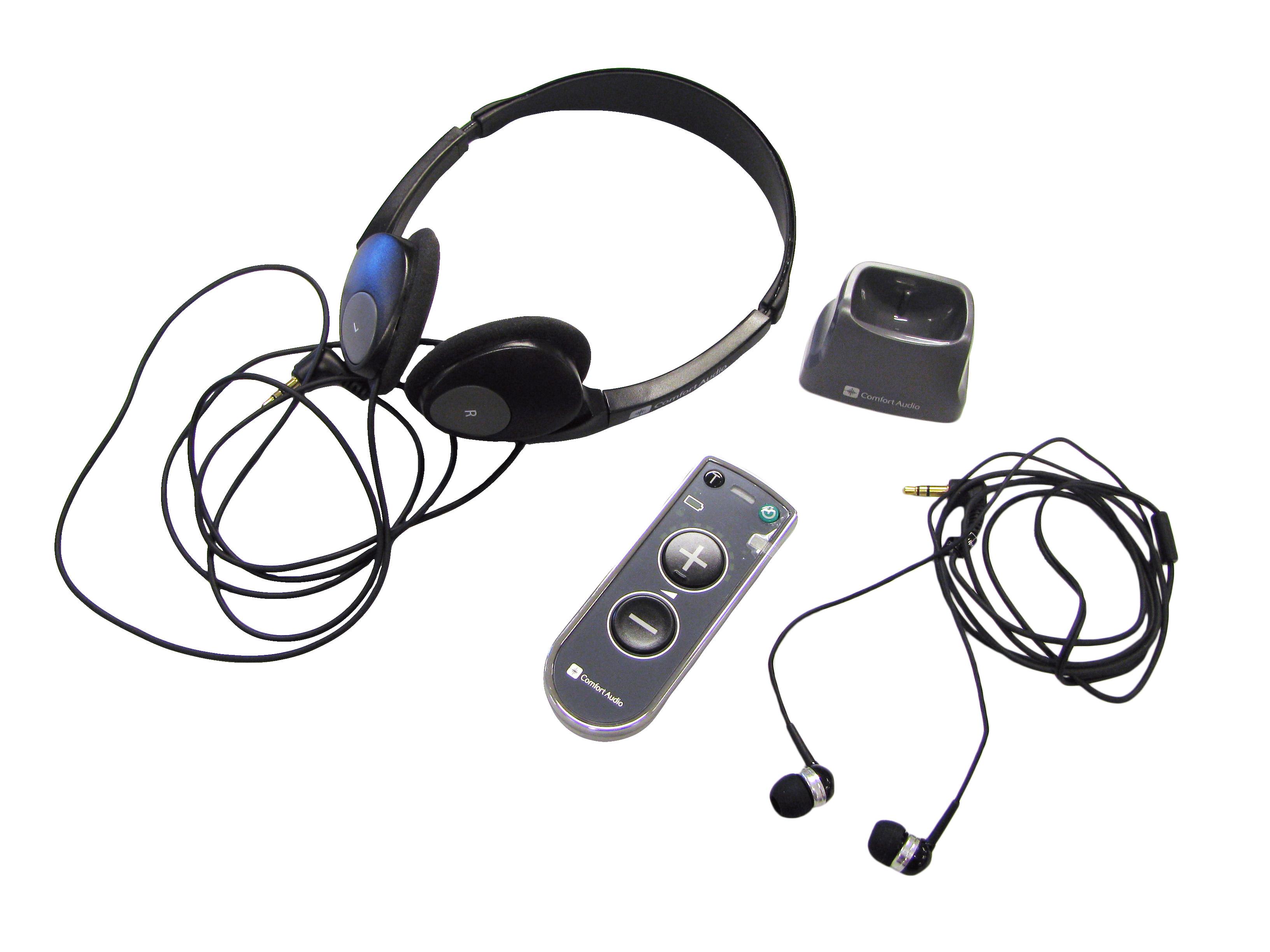 Comfort Duett Personal Amplifier with Headphones & Earbuds