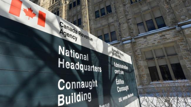 CRA head office in Ottawa, THE CANADIAN PRESS IMAGES/Matthew Usherwood