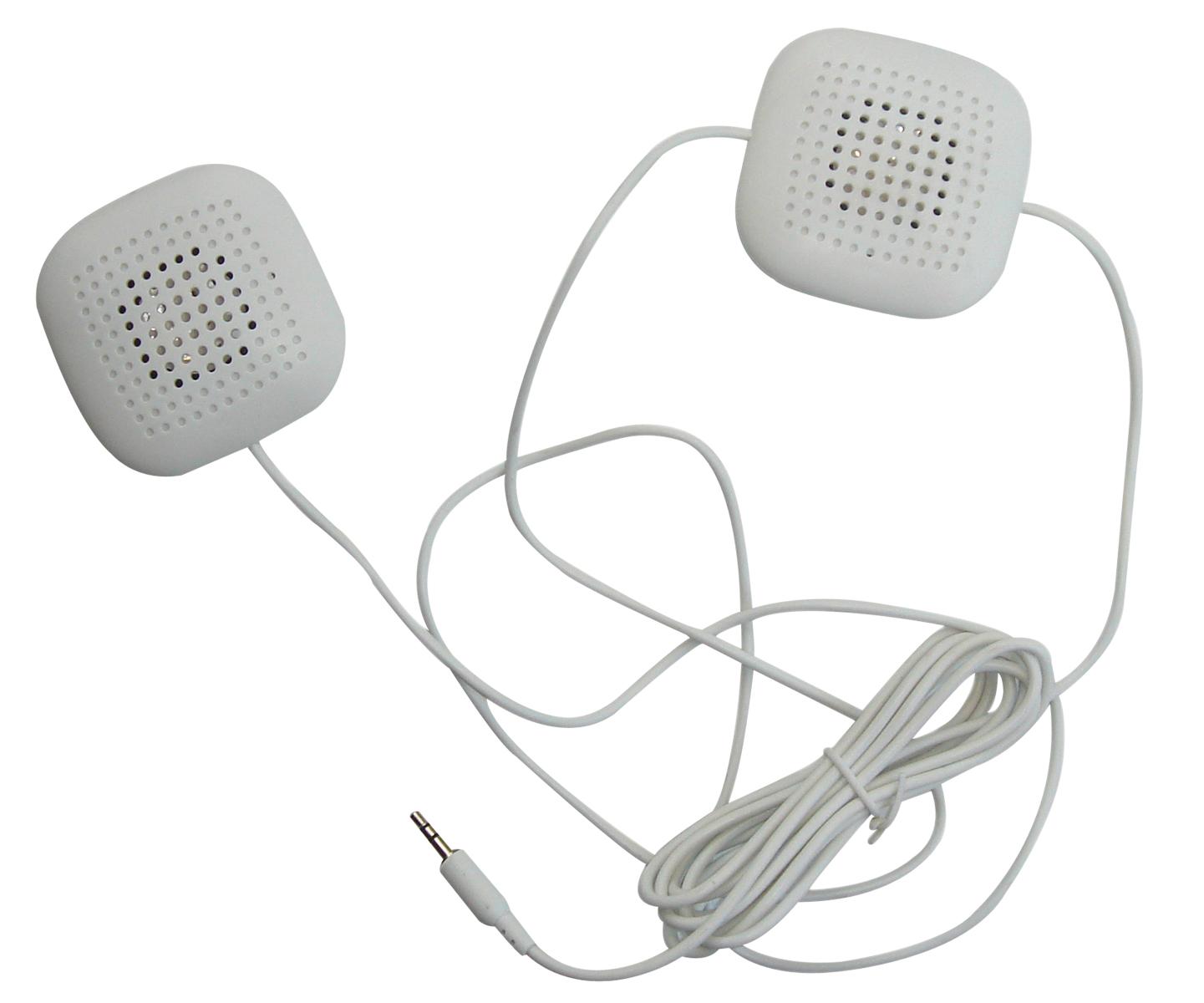 Les haut-parleurs pour oreiller Marpac vous permettent d'écouter le son produit par votre Marsona 1288A pendant votre sommeil.