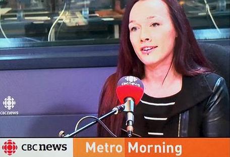 Meghan Murray on CBC's Metro Morning