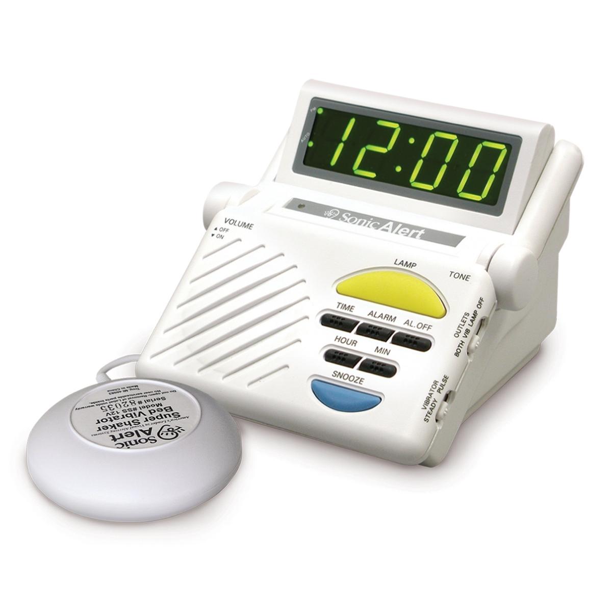 Sonic Boom Alarm Clock w/ Built in Receiver