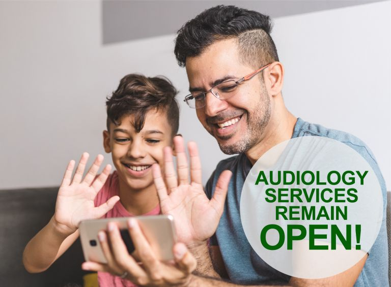 Audiology Services Remain Open