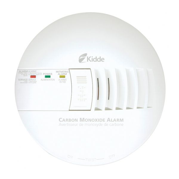 The Kidde Carbon Monoxide Alarm alerts you to dangerous CO levels in your home.
