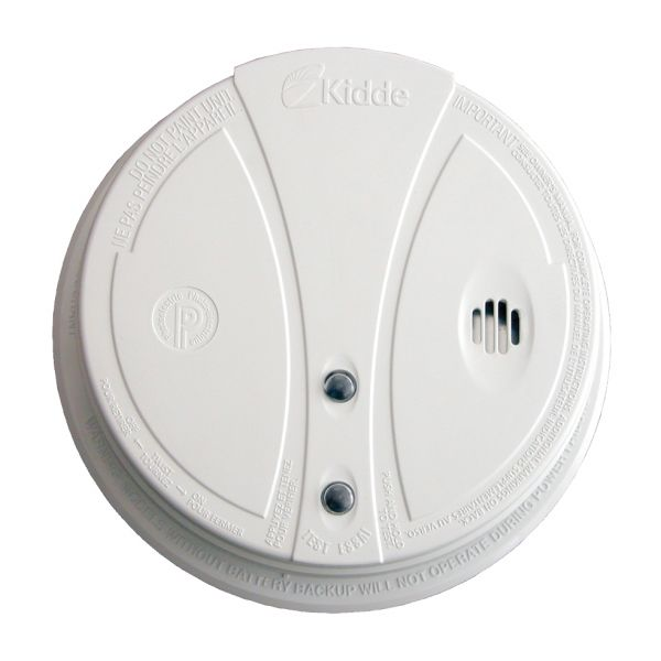 The Kidde Smoke Alarm (Photoelectric) installs easily on the ceiling. Put one on every floor of your home.