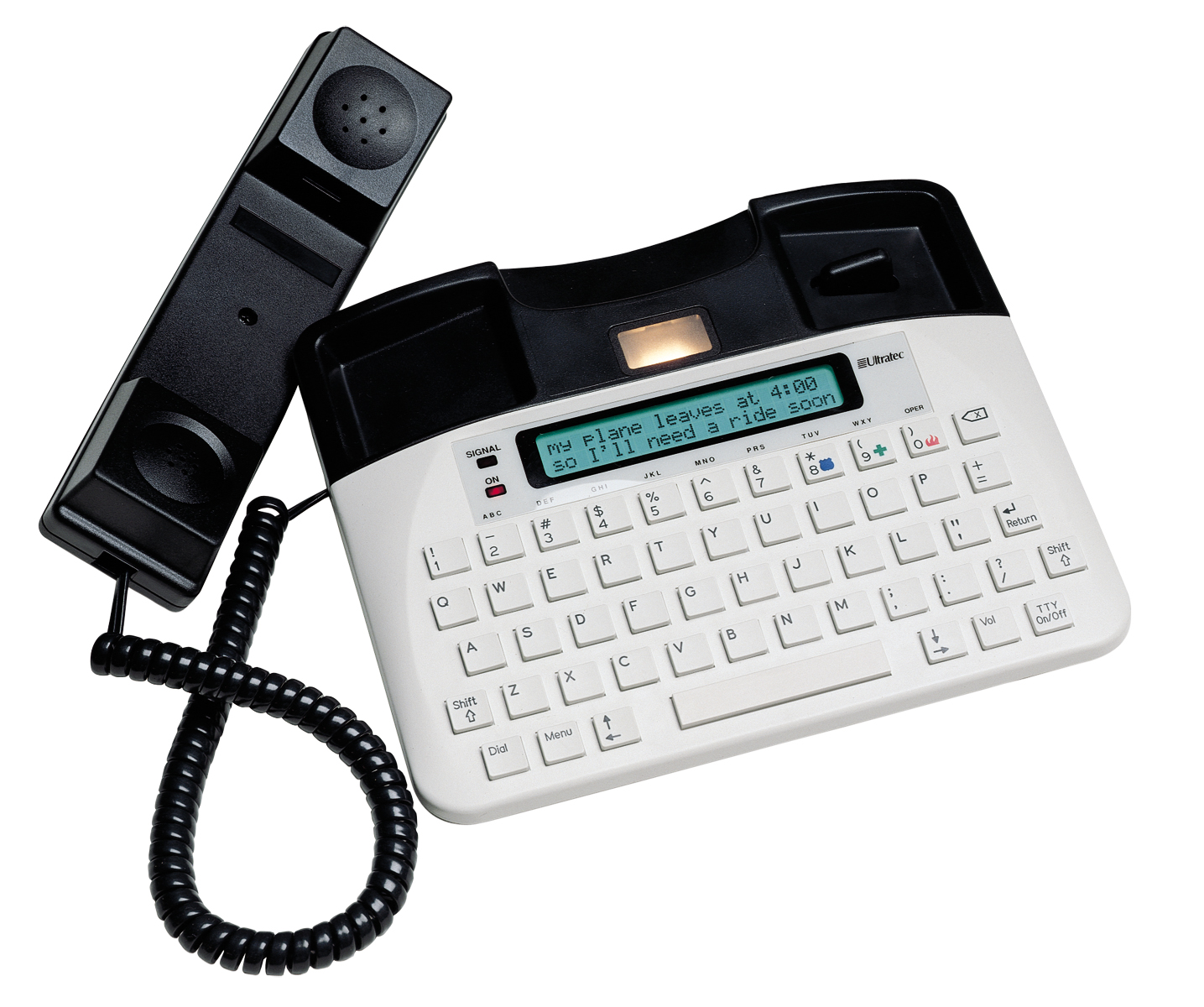 The Ultratec Uniphone 1140 features 10 speed-dial numbers to help you make fast, easy connections.