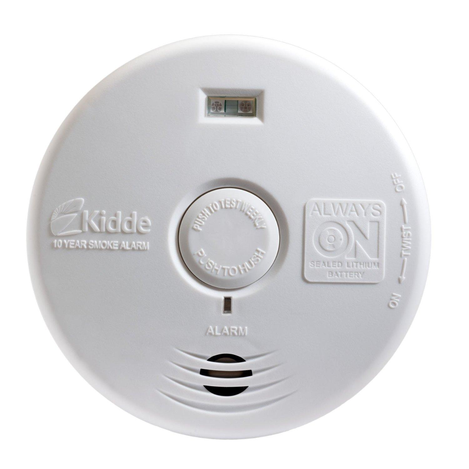 Kidde T3 Battery Operated Photoelectric Smoke Alarm